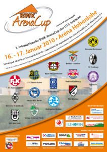 Plakat - 1. BWK-ArenaCup 2010