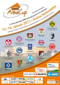 Plakat - 2. BWK-ArenaCup 2011