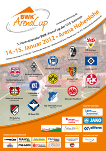 Plakat - 3. BWK-ArenaCup 2012