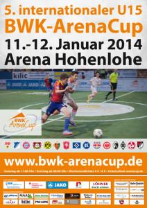 Plakat - 5. BWK-ArenaCup 2014