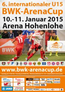 Plakat - 6. BWK-ArenaCup 2015