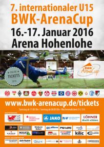 Plakat - 7. BWK-ArenaCup 2016
