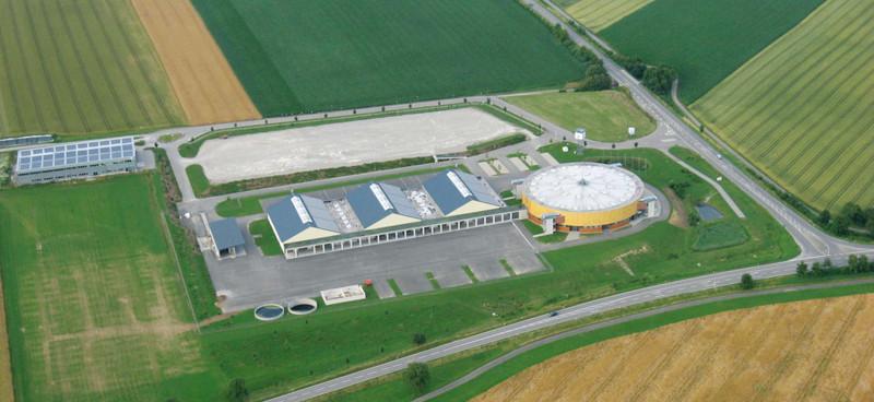 Luftbild Arena Hohenlohe