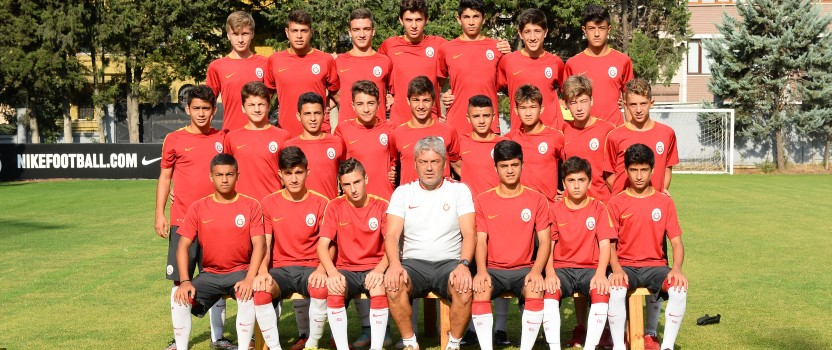 U15 von Galatasaray Istanbul zu Gast