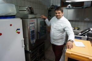 Küchenleiter Erwin Arbinger im Interview